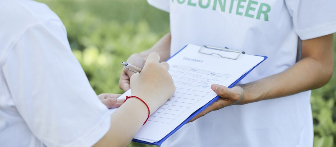 volunteer joining nonprofit who is maintaining tax-exempt status